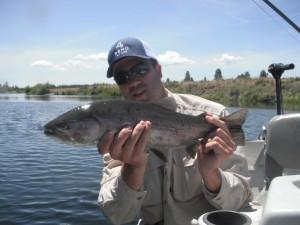 Ryan with a nice Williamson fish